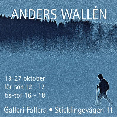 Galleri Fallera, Anders Wallén