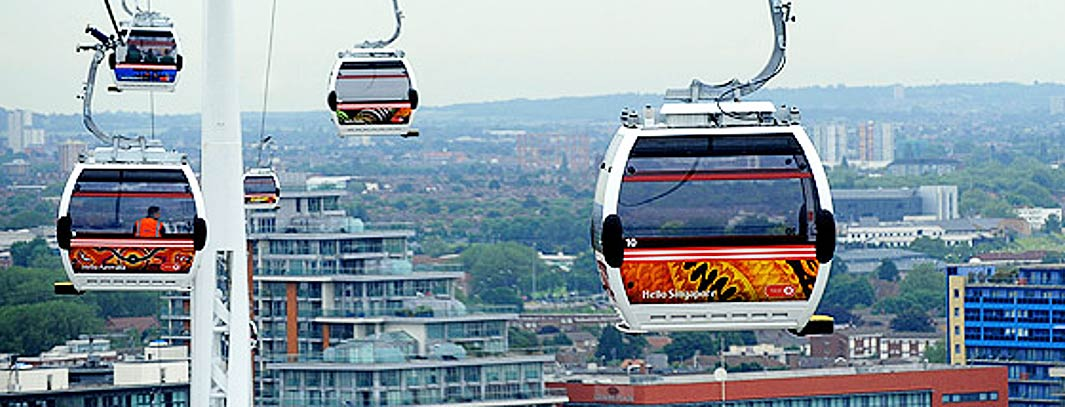 Emirates Air Line. Foto: Emirates Air Line